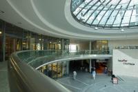 Edelstahl- und Glasgeländer im City Plaza Stuttgart
